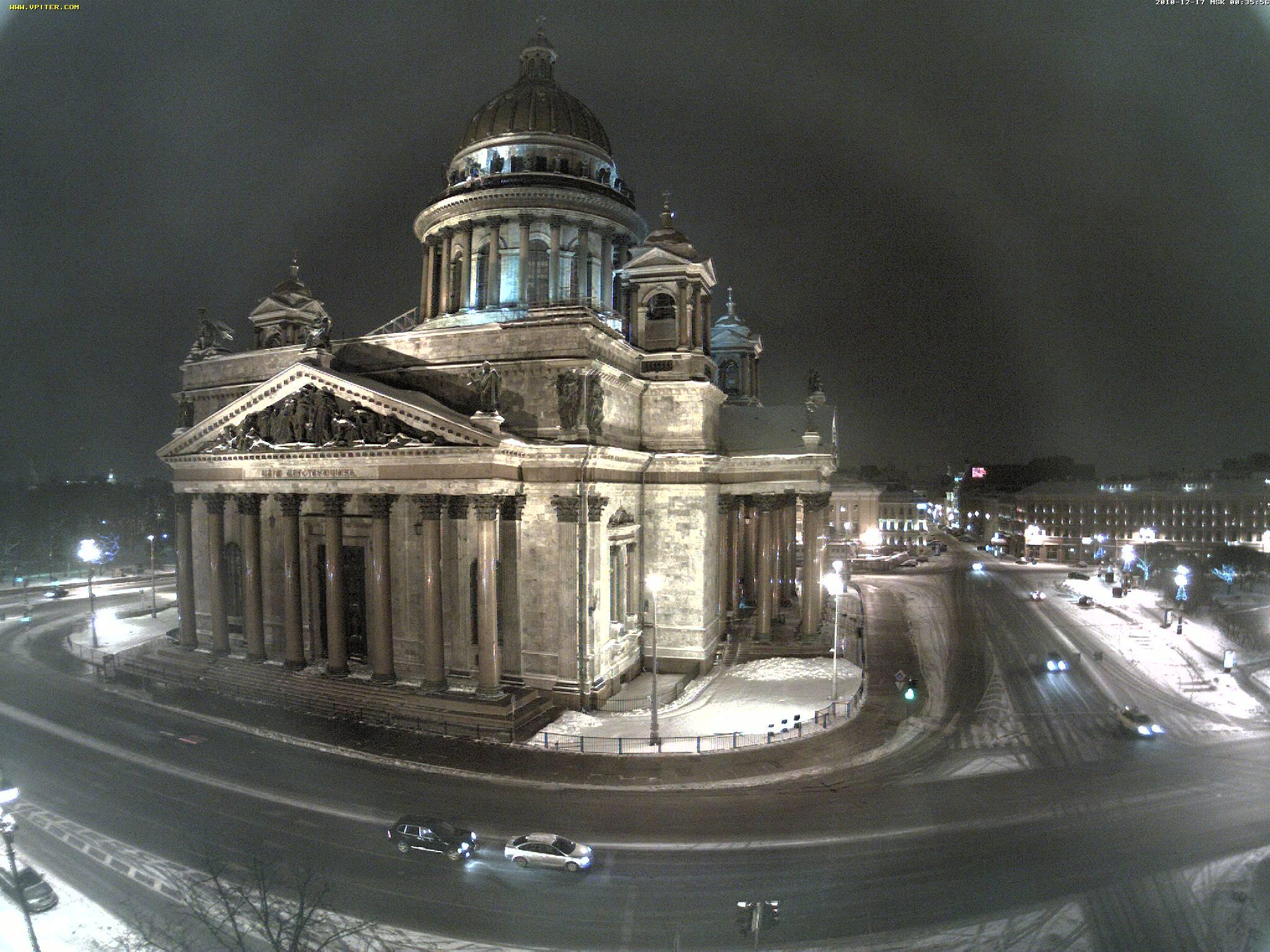 Новый год в Санкт-Петербургевеб-камер. гостиницы Санкт-Петербурга
