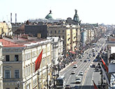 Он-лайн трансляция сНевского проспекта